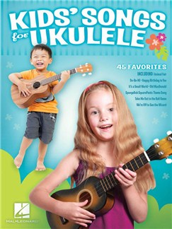 Kids' Songs For Ukulele Books | Ukulele