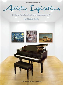 Naoko Ikeda: Artistic Inspirations Books | Piano