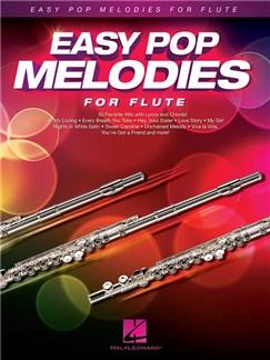 Easy Pop Melodies For Flute Livre | Flûte Traversière, Paroles et Accords