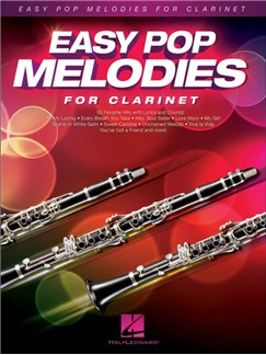 Easy Pop Melodies For Clarinet Books | Clarinet, Lyrics & Chords