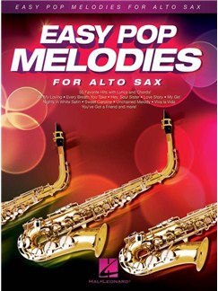 Easy Pop Melodies For Alto Saxophone Books | Alto Saxophone