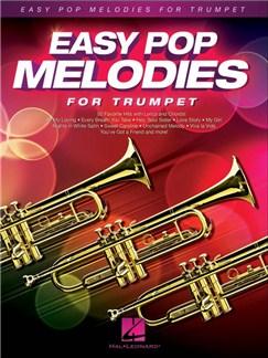Easy Pop Melodies For Trumpet Livre | Trompette, Paroles et Accords