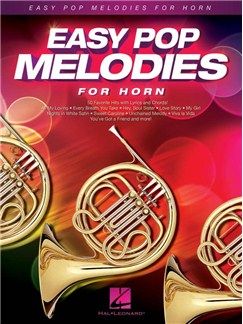 Easy Pop Melodies For Horn Books | French Horn, Lyrics & Chords