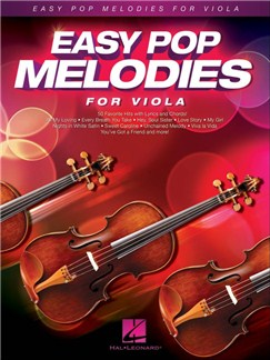 Easy Pop Melodies For Viola Books | Viola, Lyrics & Chords