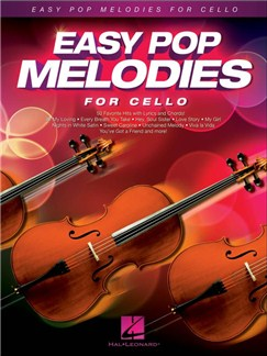 Easy Pop Melodies For Cello Livre | Violoncelle, Paroles et Accords