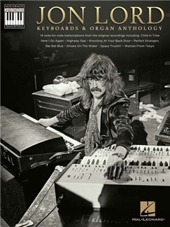 Jon Lord: Keyboards & Organ Anthology - Keyboard Recorded Versions Books | Keyboard