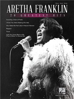Aretha Franklin: 20 Greatest Hits (PVG) Books | Piano, Vocal & Guitar