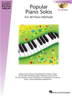 Hal Leonard Student Piano Library: Popular Piano Solos 2nd Edition – Level 2 (Book/CD) Books and CDs | Piano