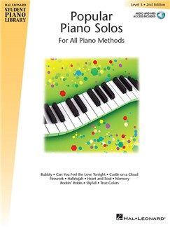 Hal Leonard Student Piano Library: Popular Piano Solos 2nd Edition – Level 3 (Book/Online Audio) Books and Digital Audio | Piano