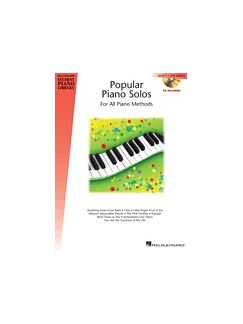 Hal Leonard Student Piano Library: Popular Piano Solos – 2nd Edition – Level 5 (Book/CD) Books and CDs | Piano