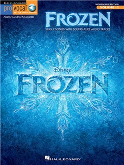 Pro Vocal Mixed Edition Volume 12: Frozen (Book/Online Audio) Books and Digital Audio | Voice