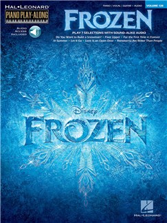 Piano Play-Along Volume 128: Frozen (Book/Online Audio) Books and Digital Audio | Piano, Vocal & Guitar, Keyboard