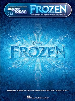 E-Z Play Today 212: Frozen - Music From The Motion Picture Soundtrack Books | Piano, Keyboard