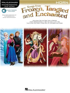 Songs From Frozen, Tangled And Enchanted: Horn (Book/Online Audio) Books and Digital Audio | French Horn