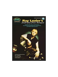 Ray Luzier's Double Bass Drum Techniques (Book/Online Audio) Books and Digital Audio | Drums