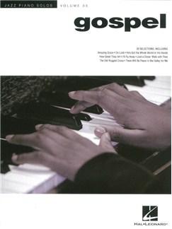 Jazz Piano Solos Volume 33: Gospel Books | Piano