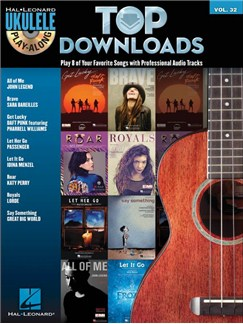 Ukulele Play-Along Volume 32: Top Downloads (Book/CD) Books and CDs | Ukulele