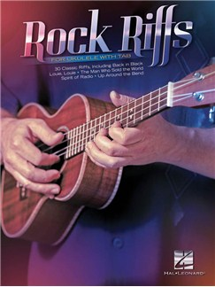 Rock Riffs For Ukulele With Tab Books | Ukulele