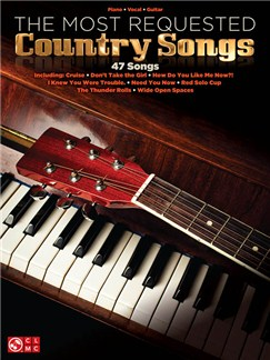 The Most Requested Country Songs (PVG) Books | Piano, Vocal & Guitar