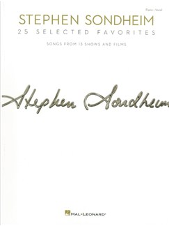 Stephen Sondheim: 25 Selected Favorites Books | Piano & Vocal
