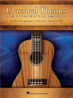 Classical Themes For Fingerstyle Ukulele Books | Ukulele