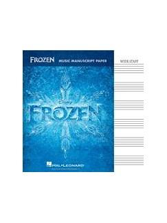 Frozen: Music Manuscript Paper - Wide Staff (32 Pages) Bog |