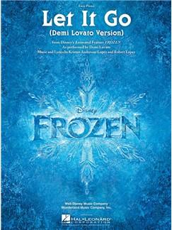 Demi Lovato: Let It Go (From Frozen) Easy Piano Books | Easy Piano
