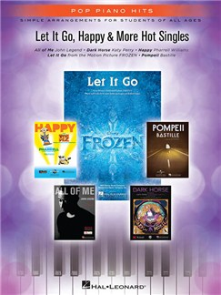 Pop Piano Hits: Let It Go, Happy & More Hot Singles Books | Piano, Vocal & Guitar