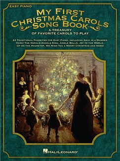 My First Christmas Carols Songbook (Easy Piano) Books | Piano, Easy Piano