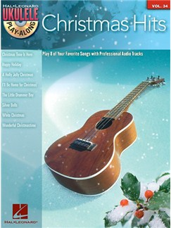 Ukulele Play-Along Volume 34: Christmas Hits (Book/CD) Books and CDs | Ukulele