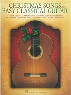 Christmas Songs For Easy Classical Guitar Books | Guitar