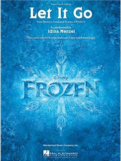 Frozen: Let It Go (PV) Livre | Piano et Chant