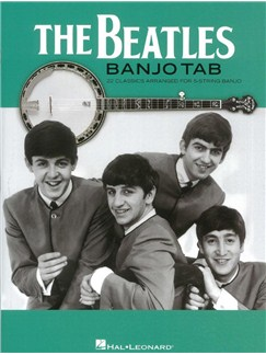 The Beatles Banjo Tab: 22 Classics Arranged For 5-String Banjo Livre | Banjo, Paroles Seulement