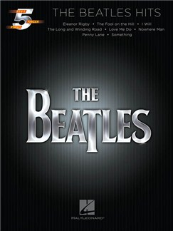 Five Finger Piano Songbook: The Beatles Hits Books | Piano