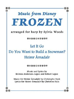 Music From Disney's Frozen For Harp Books | Harp