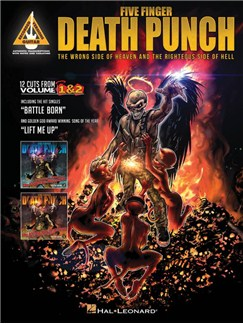 Five Finger Death Punch: The Wrong Side Of Heaven And The Righteous Side Of Hell - Guitar Recorded Versions Books | Guitar Tab, Guitar