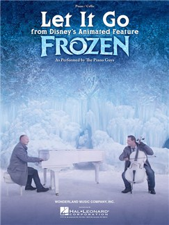 The Piano Guys: Let It Go (From Frozen) Books | Cello, Piano Accompaniment