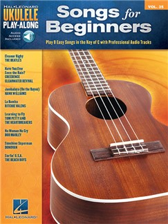 Ukulele Play-Along Volume 35: Songs For Beginners (Book/Online Audio) Books and Digital Audio | Ukulele