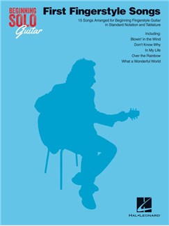 Beginning Solo Guitar: First Fingerstyle Songs Books | Guitar, Guitar Tab
