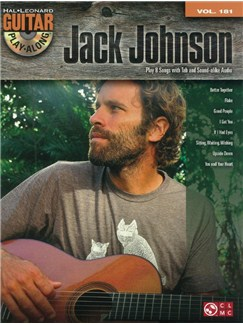 Guitar Play-Along Volume 181: Jack Johnson (Book/CD) CD et Livre | Guitare
