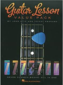 Guitar Lesson Value Pack: Seven Classic Books All In One Books | Guitar