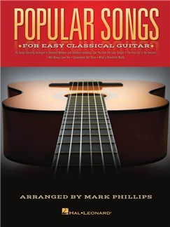 Popular Songs For Easy Classical Guitar Books | Classical Guitar