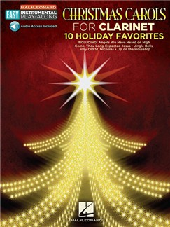 Clarinet Easy Instrumental Play-Along: Christmas Carols (Book/Online Audio) Books and Digital Audio | Clarinet