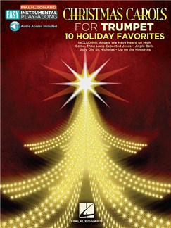 Trumpet Easy Instrumental Play-Along: Christmas Carols (Book/Online Audio) Books and Digital Audio | Trumpet