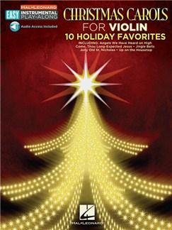 Violin Easy Instrumental Play-Along: Christmas Carols (Book/Online Audio) Books and Digital Audio | Violin