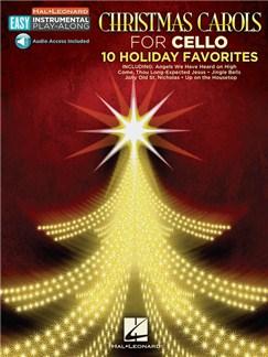 Cello Easy Instrumental Play-Along: Christmas Carols (Book/Online Audio) Books and Digital Audio | Cello