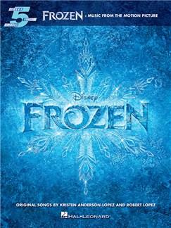 Frozen: Music From The Motion Picture - Five Finger Piano Livre | Piano, Paroles Seulement