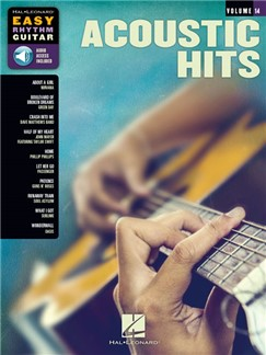 Easy Rhythm Guitar Series Volume 14: Acoustic Hits (Book/Online Audio) Books and Digital Audio | Guitar