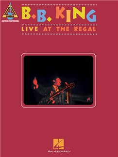 B. B. King: Live At The Regal - Guitar Recorded Versions Livre | Guitare, Tablature Guitare