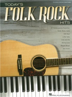 Today's Folk Rock Hits (PVG) Books | Piano, Vocal & Guitar